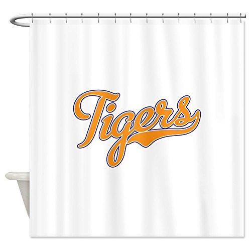 Clemson Tigers Shower Curtain - CafePress Go Tigers! South Carolina Palmetto Flag Shower Cur Decorative Fabric Shower Curtain (69