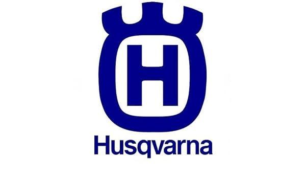 Pegatina de HUSQVARNA, con espacios, para moto, casco, 12 cm: Amazon.es: Hogar