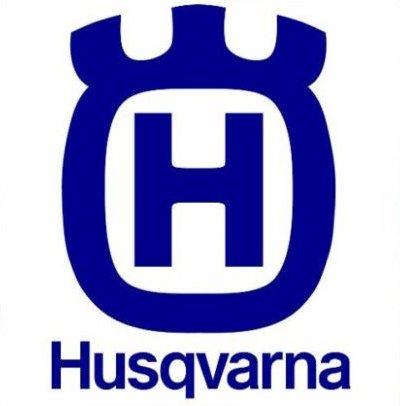 Pegatina de HUSQVARNA, con espacios, para moto, casco, 12 cm