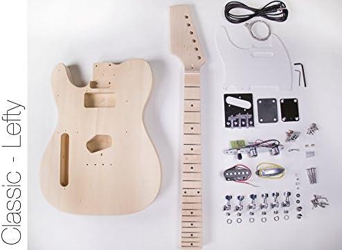 DIY Kit de guitarra eléctrica – Construye tu propio tipo ...
