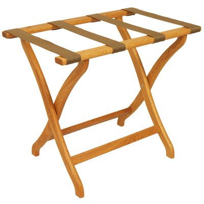 Wooden Mallet LR3 Deluxe Luggage Rack