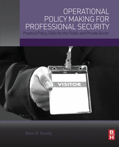 Operational Policy Making for Professional