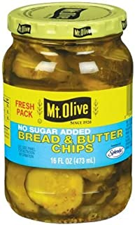 product image for Mt Olive Bread & Butter Chips 16oz 3pack (no sugar added)