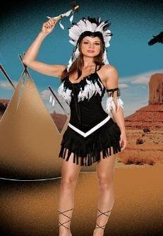 LADIES POCAHONTAS INDIAN FANCY DRESS COSTUME 6-8 (disfraz): Amazon ...
