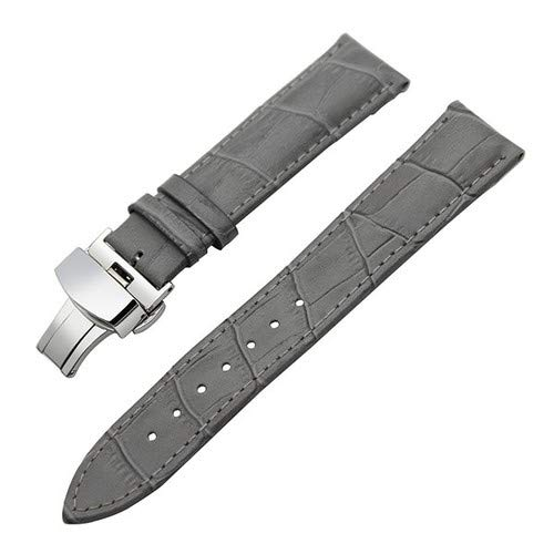 Jewh Watch Band- Genuine Leather Watch Band 22mm for LG G Watch W100 / W110