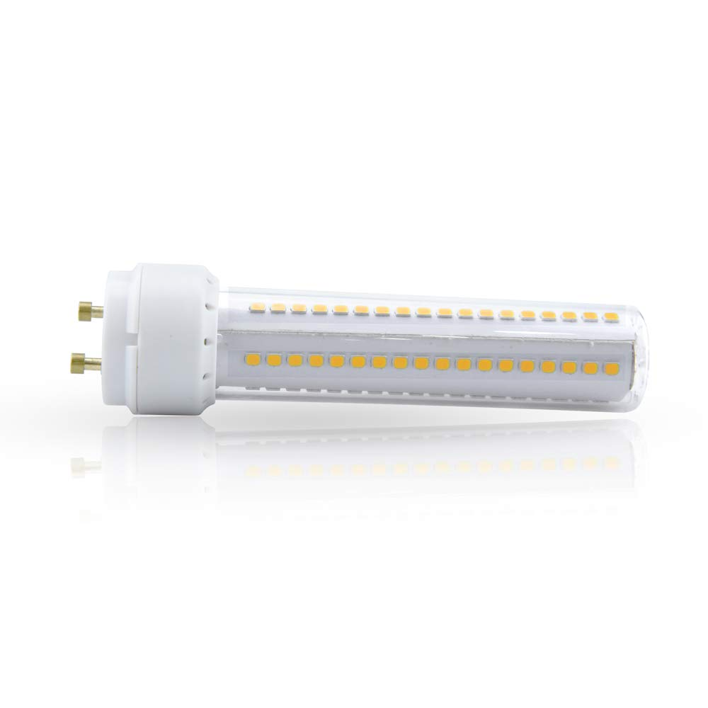 26W CFL Equivalent Bonlux 2-Pack GX24Q 4-pin LED Bulb Removal//Bypassing is Required 360 Degree Beam Angle GX24//G24Q LED PL Recessed Lamp 12W - Warm White 3000K Ballast Incompatible Non-dimmable
