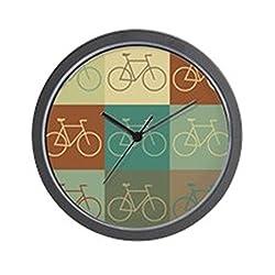 CafePress Bicycling Pop Art Wall Clock Unique Decorative 10 Wall Clock