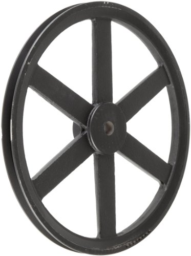 Martin-PB-Plain-Bore-FHP-Sheave-4L5L-or-B-Belt-Section-1-Groove-Class-30-Gray-Cast-Iron