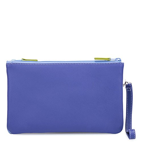 Lavender Clutch Mywalit Leather Small Pouch Purse 1238 Mint Double Zip qaIaRzw