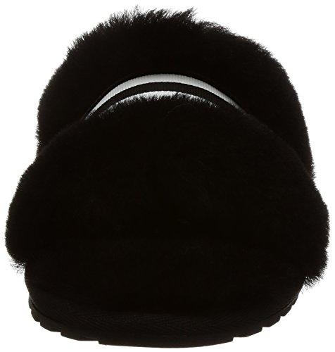 Emu Australia Womens Slippers Wrenlette Sheepskin Pantoffel Zwart