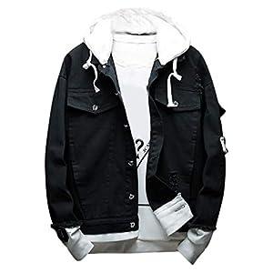 Sunward Men's Fashion Cowboy Jacket Casual and Comfortable Jean Coat