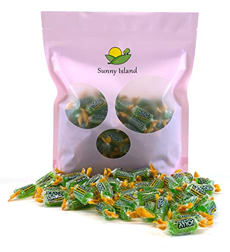 Sunny Island Bulk - Jolly Rancher Hard Candy Green Apple Flavor, Cholesterol-Free Candy, 2 Pounds Pack ()