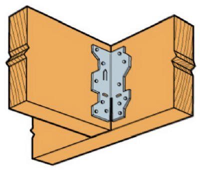 Simpson Strong Tie A34-100 18-Gauge Framing Angle 100-Per Box
