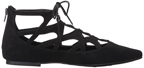MIA Women's Anamarie Pointed Toe Flat Black DvoHRH