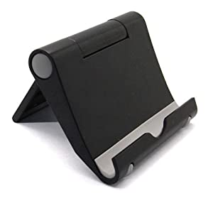 XENO-For iPad Tablet iPhone Desk Stand Holder Phone Folding Portable Hot Fashion(black)