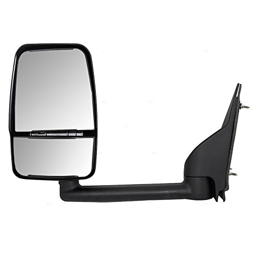 Drivers Manual Side View Paddle Type Dual Glass Mirror Replacement for Chevrolet GMC Van 25894029 AutoAndArt