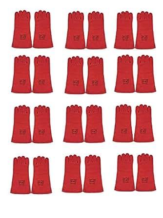 Power Tool Welding Gloves - Red