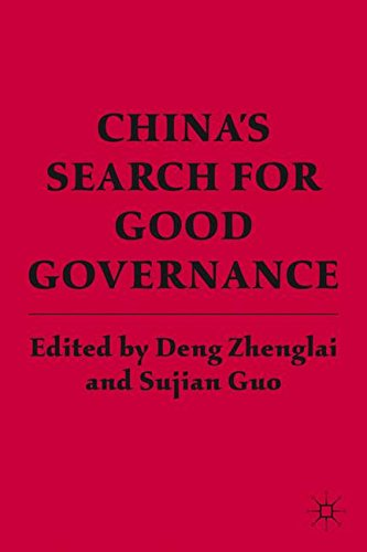 China's Search for Good Governance