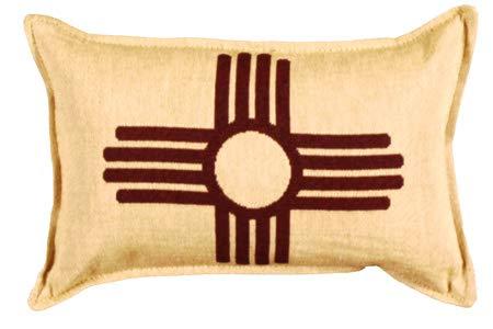Amazon.com: LoomHome - Almohada de bandera de Nuevo México ...