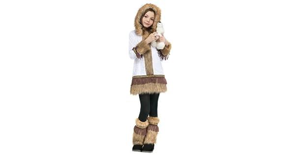 Amazon.com: Kids – Disfraz de esquimal, XL, Blanco: Toys & Games