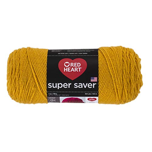 The 10 best gold yarn red heart