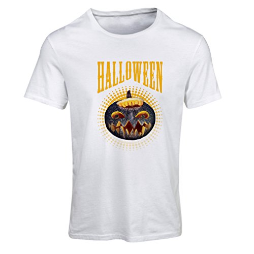 T Shirts for Women Halloween Pumpkin - Clever Costume Ideas 2017 (XX-Large White Multi -