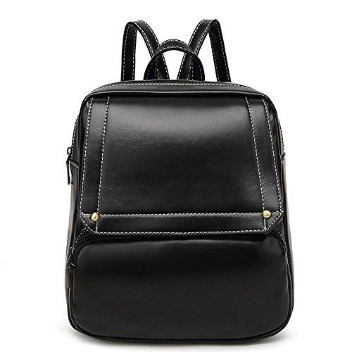 Aoligei Mode loisirs mode Dame voyage sac à dos étudiant rétro sac à dos C