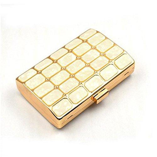 Cena Gold Bag Per Tracolla Kervinfendriyun In Con Yy4 Messenger Gold Acrilico color 7nwwqp81F