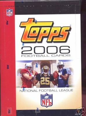 (2006 Topps Football Rack Box -24P18C)