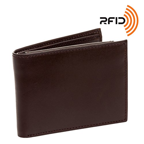 mens-genuine-leather-rfid-passcase-wallet-by-ross-michaels-brown