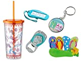 Cool Values Flip Flop Gift Set for Men Tumbler Bottle Opener Keychain Magnet Luggage Tag