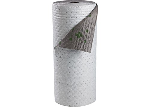 Sorbent Products Company HTBB30 High Traffic Barrier Backed Series Roll, Polypropylene, 30'' x 100', Gray with Safety Print by Sorbent Products Company
