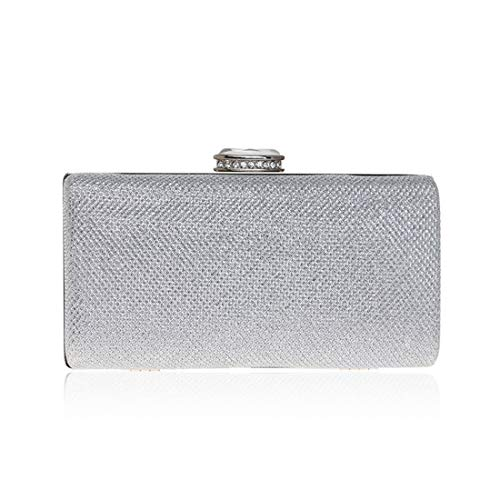 bag Clutch Dress Evening evening Ladies Bag Sequin Fly53 Silver FLY Fashion Color Silver Dress Evening 8wnvqzSPxq