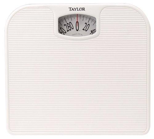 Taylor 20205014 Analog Bath Scale White