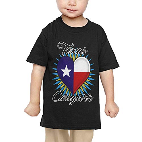 Price comparison product image Pipi66xiami Kids Texas Caregiver Unisex Infants Crew Neck Short Sleeve Tee