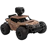 RC Cars 1/16 Scale Off-Road Remote Control Truck,Remote Control Car with 720P HD FPV Camera,2.4Ghz High Speed Monster…