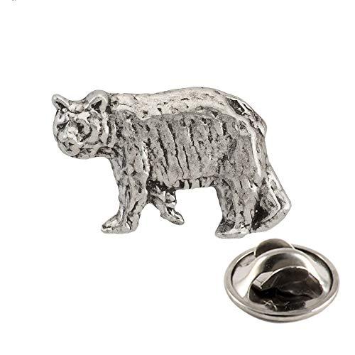 Black Bear Pewter Pin, M033MP