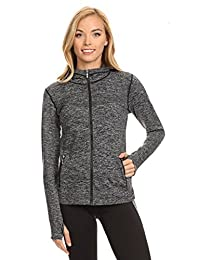 Seamless Active Living Jacket with Hoodie