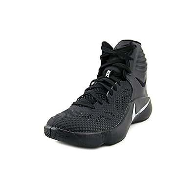 Men's Nike Zoom Hyperfuse 2014 Basketball Shoe Black/White Size 11 M US