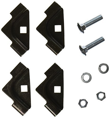 Hubbell Wiring Systems HLTK 10 Piece Powder Coated Steel T-Junction Splice Kit for NextFrame Ladder Rack