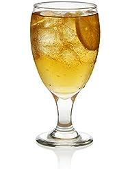 Libbey Classic Goblet Beverage Glasses, Set of 4