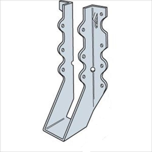 (100 Count) Simpson Strong-Tie LU28R-18 - 2 x 8 Rough Face Mount Hanger 18 Ga.