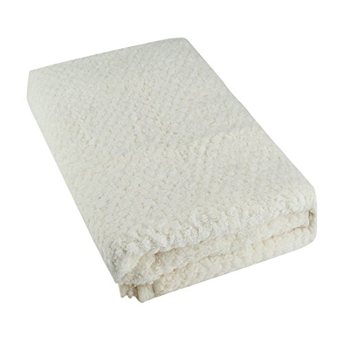 - Your Gallery 100% Organic Cotton Lightweight Waffle Weave Bath Towel Sheets,Off White