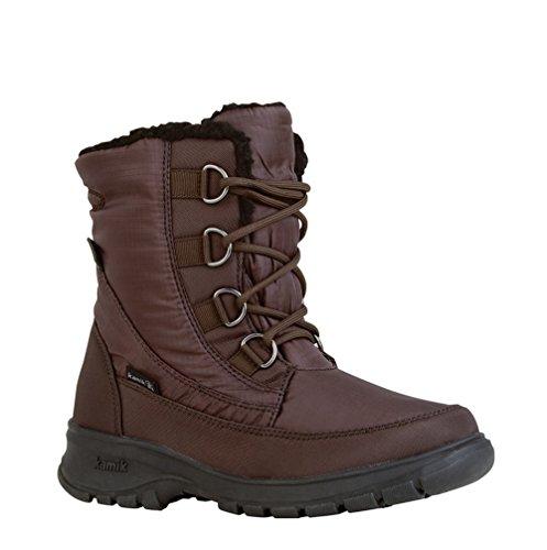 Kamik Baltimore Winter Boot - Womens, Dark Brown, 7
