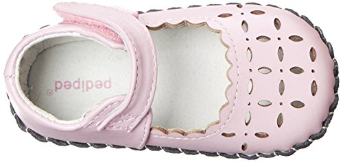 Katelyn pediped Rose Sandales Pink Pas Pearl Fille Bébé Premiers dBrq7B