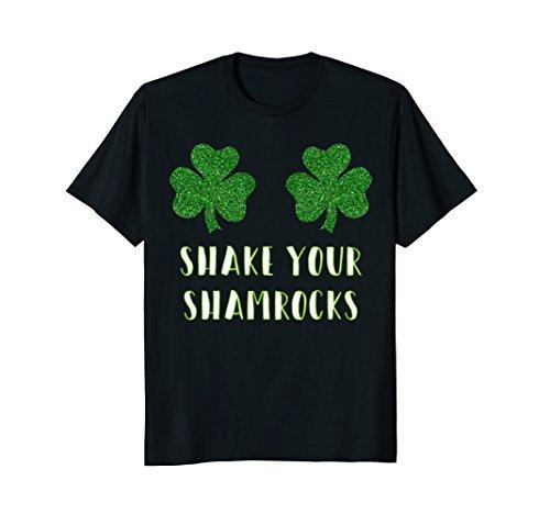 Fun Party Shake Your Shamrocks St. Paddys T-shirt