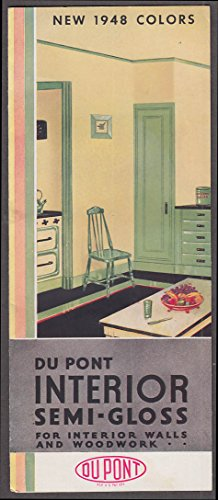 du-pont-interior-semi-gloss-paint-new-1948-colors-chip-chart-folder