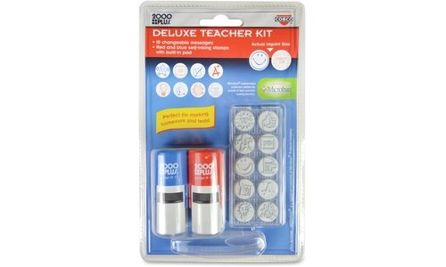 Consolidated Stamp Cosco Message Stamp Deluxe Teacher (Deluxe Stamp)