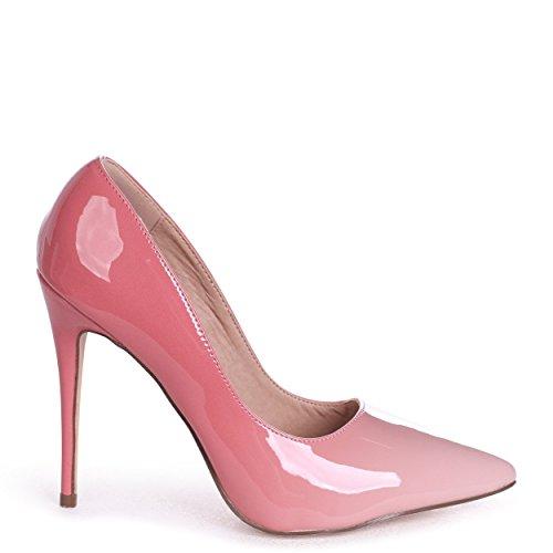 Phoenix - Pink Ombre Effect Stiletto Court Heel Pink EslWLNBaI