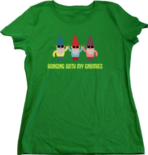 Ann Arbor T-Shirt Co. Women's Hanging with My Gnomies Cut T-Shirt